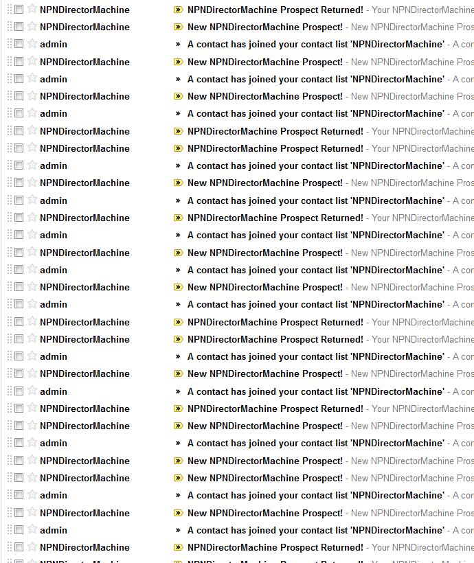 My Gmail Screenshot - NPNDirectorMachine!