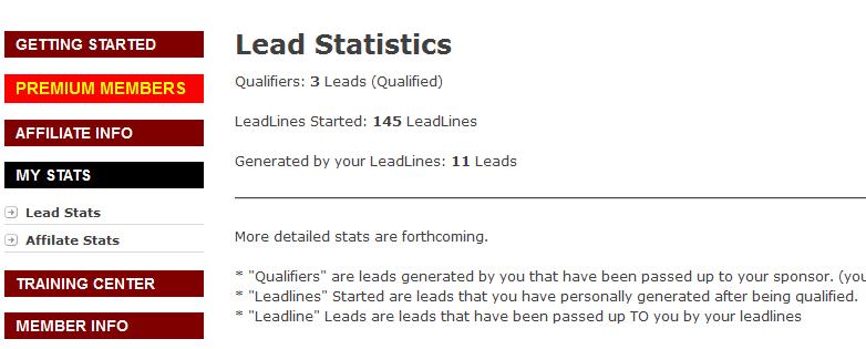 LeadSkimmer Stats