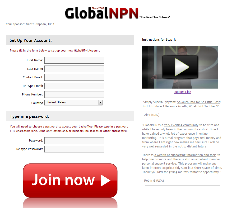 GlobalNPN new website